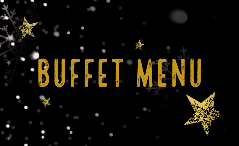 Festive buffet at [outlet]