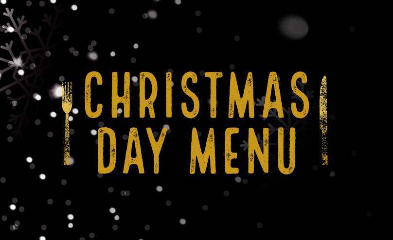 Christmas Day Menu at O'Neill's Carnaby Street