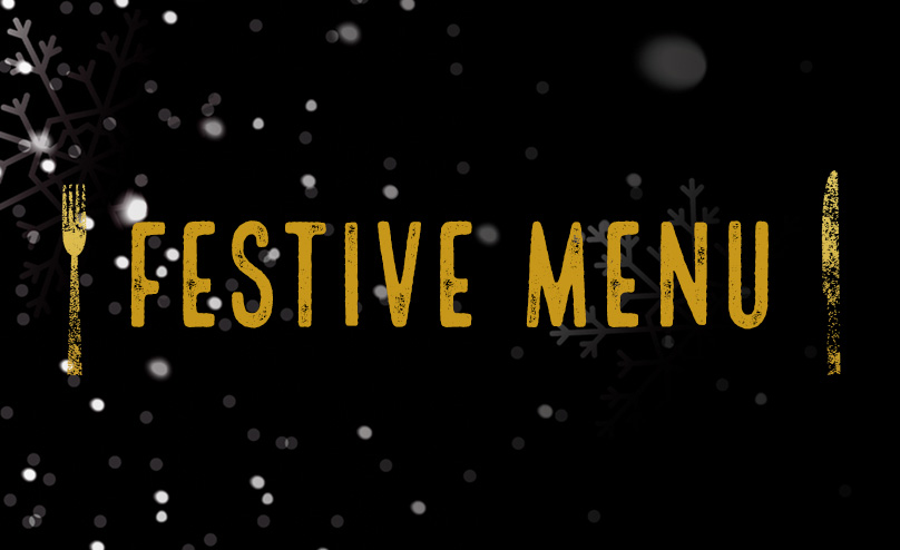 Festive menu at O'Neills Leeds