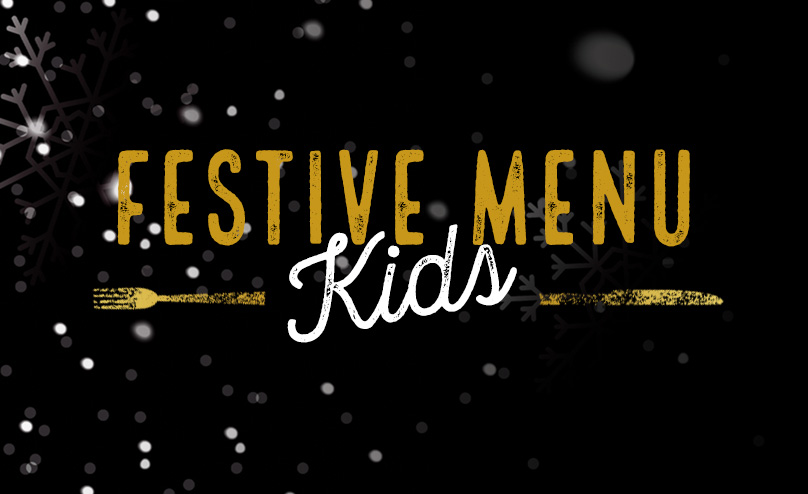 Festive Kids Menu at O'Neill's Sutton