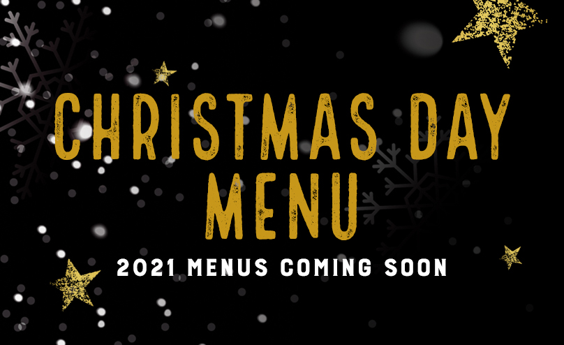 Christmas Day Menu at [outlet]