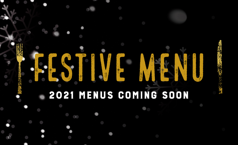 Festive menu at [outlet]