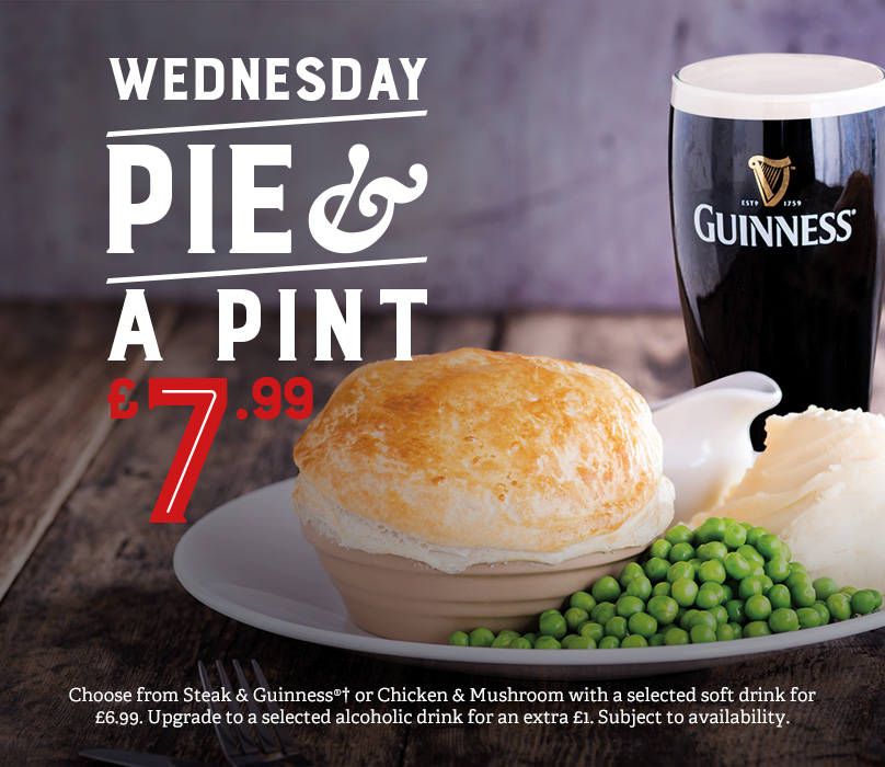 Pie & a Pint deal