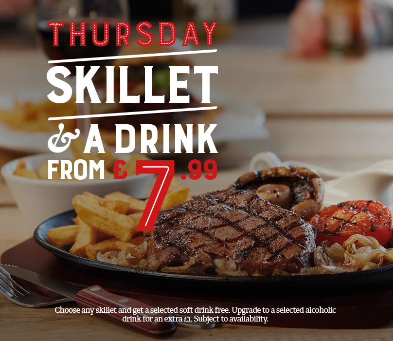Thursday Skillet Deals