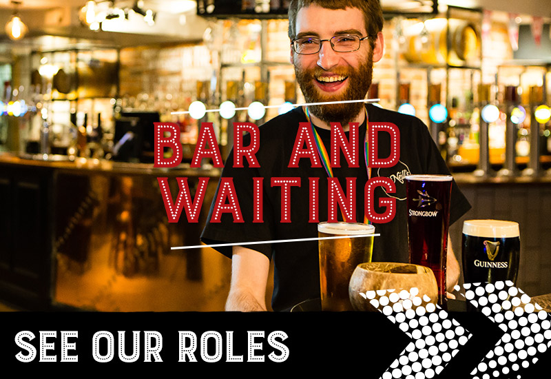 Bar and waiting jobs at O'Neill's