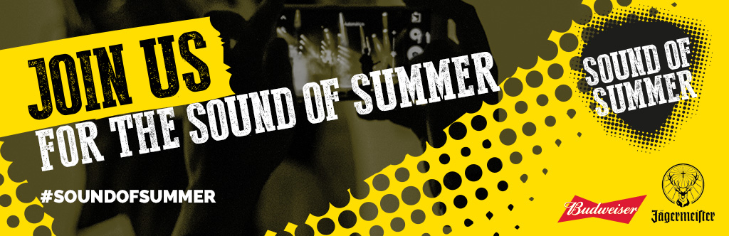 Sound of Summer top banner