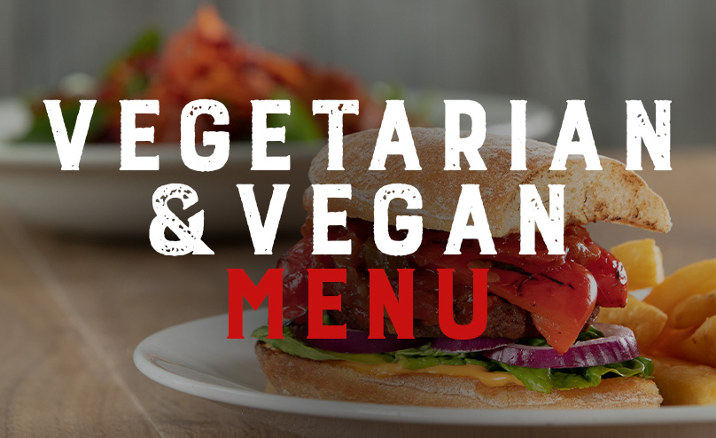 Vegan & Vegetarian Menu at O'Neill's Wimbledon