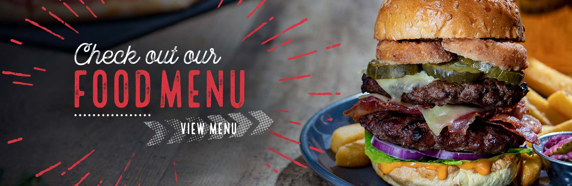 New Menu at O'Neills Clapham