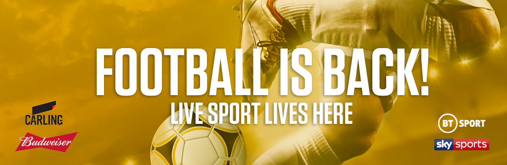 Watch live football at your local O'Neill's pub